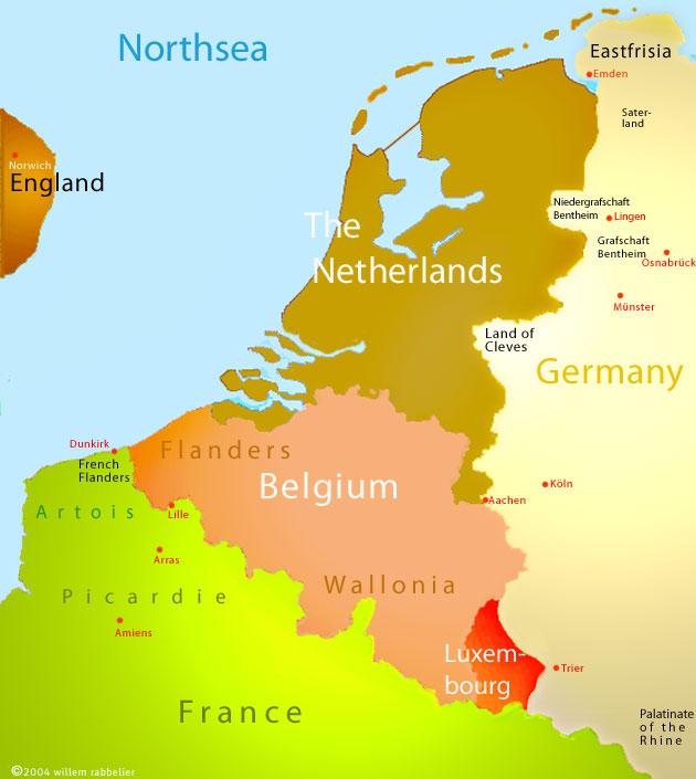 CarPark intro Dutch and Belgian genealogyhistorytopography – Belgium Provinces Map